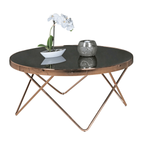 Koffietafel kopen amazing bijzettafel donkerbruin for Salontafel rond design