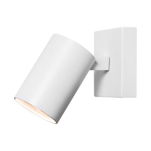 energie  A++, Wand- en plafondlamp Ascoli - staal wit 1 lichtbron, Illumina