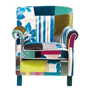 Kare Design Patchwork Stripes Design fauteuil Patchwork Stripes