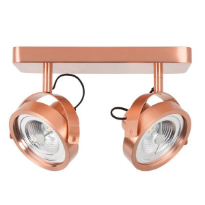 Zuiver Dice-2 Design spot koper Dice-2 LED