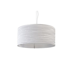 Graypants Drum 18 Hanglamp Wit - 45 cm