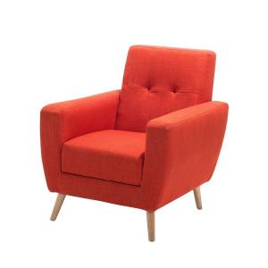 Rode fauteuils loungestoelen online kopen - Ontspannende leunstoel microvezel ...