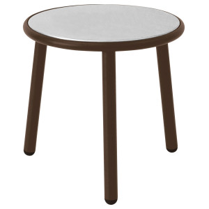 Emu Yard Coffee Table bijzettafel staal brown 50