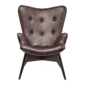 Kare Design Angels Wings Eco Fauteuil Angel Wings S donkerbruin