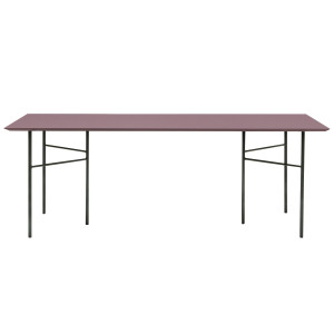 Ferm Living Mingle Bordeaux Linoleum tafel 160x90