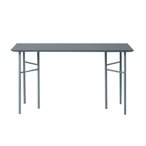 Ferm Living Mingle Desk Dusty Blue Linoleum bureau 135x65