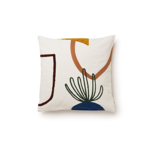 Ferm Living Mirage Cushion Island sierkussen 50 x 50 cm