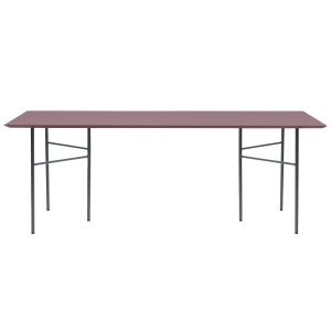 Ferm Living Mingle Bordeaux Linoleum tafel 210x90