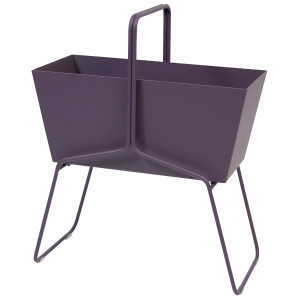 Fermob Basket plantenbak high plum