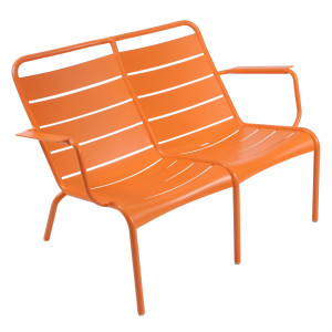 Fermob Luxembourg fauteuil duo carrot