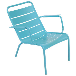 Fermob Luxembourg fauteuil Turquoise Blue