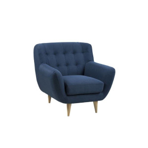 Omega - fauteuil - donkerblauw
