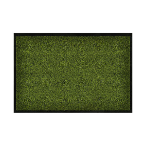 Deurmat Green en Clean - groen - maat: 40x60cm, Hanse Home Collection