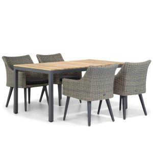 Garden Collections Milton/Mazzarino 160 cm dining tuinset 5-delig