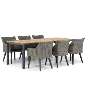 Garden Collections Milton/Mazzarino 220 cm dining tuinset 7-delig
