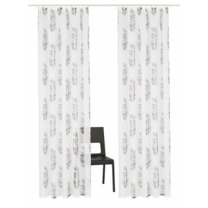 Gordijn, Home affair Collection, Terni, met rimpelband (set van 2)