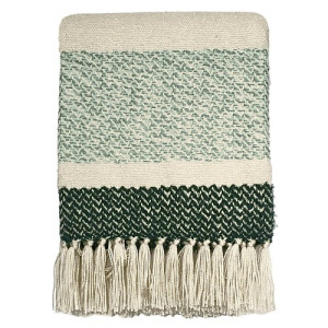 Malagoon Berber Plaid 125 x 150 cm - Grainy Green