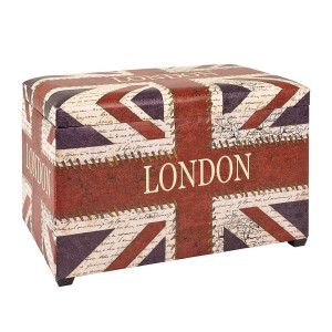 Home24 Zitkist Union Jack Vintage, Home Design