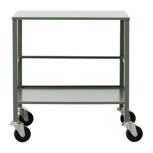 House Doctor Trolley Office 50 x 35 cm - Legergroen