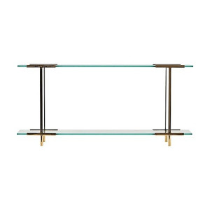 House Doctor Wandrek Pure Brons/Glas - 13 x 60 cm