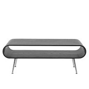 Hooper salontafel met opbergruimte, zwart