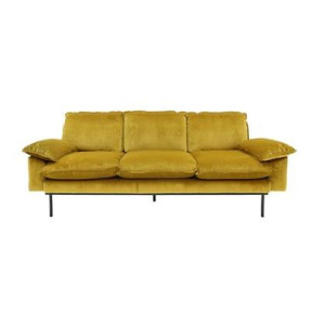 HKliving Retro Sofa 3-zitsbank