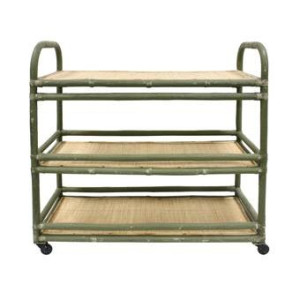 HKliving Rotan Trolley