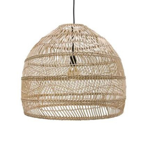 HKliving Wicker Rieten Hanglamp M