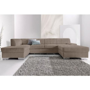 Hoekbank met chaise longue links of rechts