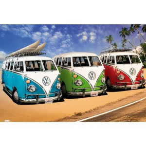 HOME AFFAIRE artprint VW Californian Camper - Campers, 90x60 cm