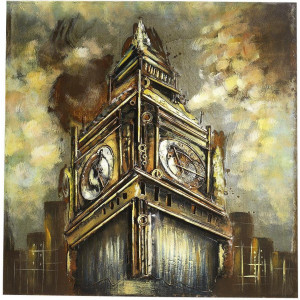 Home affaire metalen artprint 3D BIG BEN