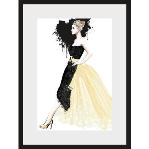 Leonique poster Schets Dress, 30x40 cm