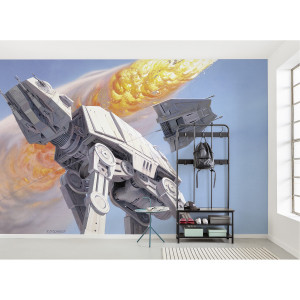 Home24 Fotobehang StarWars Hoth Battle ATAT, home24