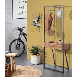 Home24 Garderobe Cuq I, Red Living