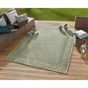 Home24 In-/outdoortapijt Royal, Bougari