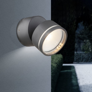 Home24 LED-buitenlamp Lissy IV, Globo Lighting