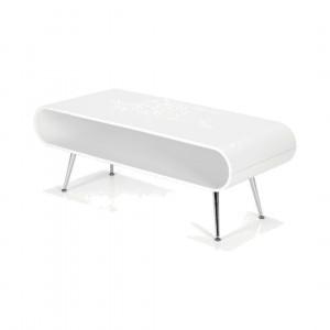 Hooper salontafel met opbergruimte, wit