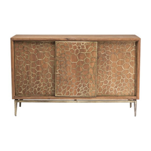 Kare Design Mesh Brass Houten design dressoir