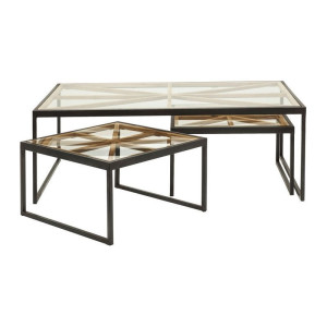 Kare Design Beam Industriele salontafelset