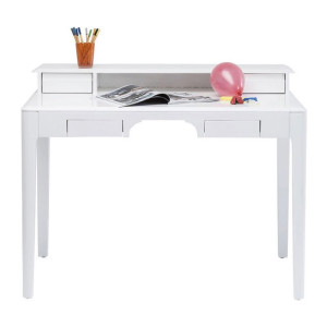 Kare Design Brooklyn White Hoogglans wit bureau