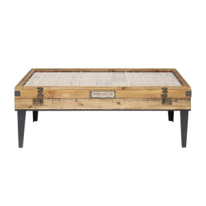 Kare Design Collector Salontafel met vitrine