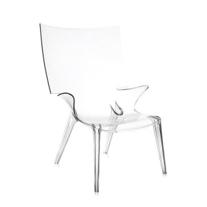 Kartell Uncle Jim fauteuil Crystal