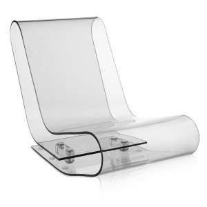 Kartell - LCP Fauteuil - Transparant