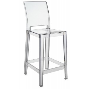 Kartell - One More Please Barkruk - Transparant