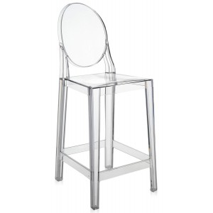 Kartell - One More Barkruk - Transparant