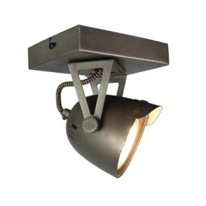 LABEL51 LED Spot Cap 1-light 14 x 10 x 14 cm - Burned Steel