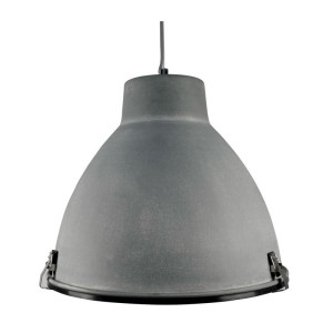 LABEL51 Industry Metalen grijze hanglamp