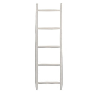 Household Hardware Ladder Luxe 150 cm - Wit