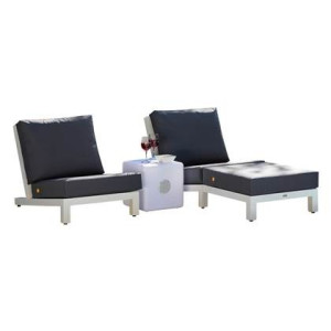 Life Outdoor Living Block All Weather Loungeset