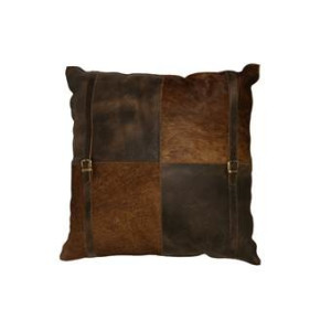 Light & Living Sierkussen COUNTRY - Cowskin leer Bruin